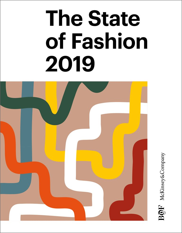 Cover of the BOF McKinsey State of Fashion Report 2019